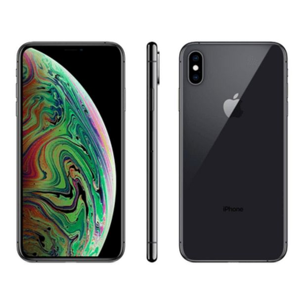 Oferta de IPhone XS Max 64GB Cinza Apple por R$4999