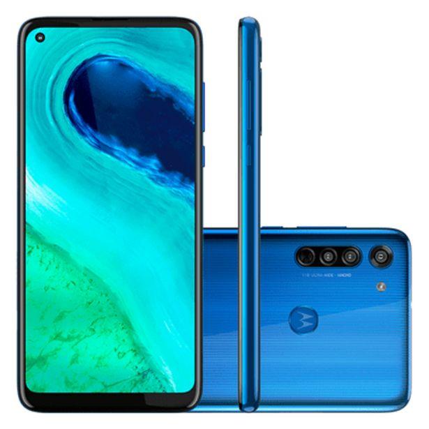 Oferta de Smartphone Motorola G8 64GB Azul por R$1389