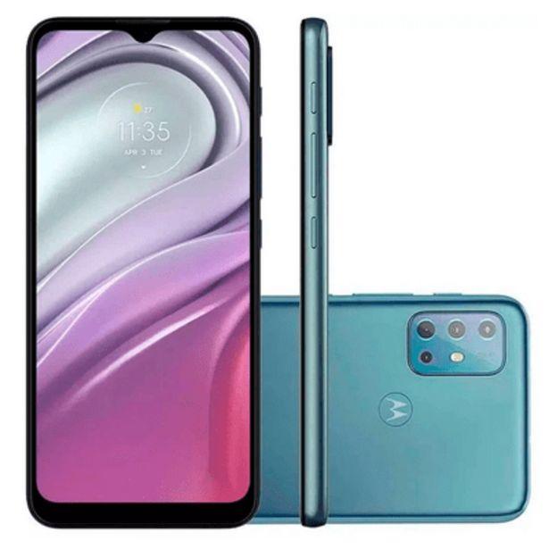 Oferta de Smartphone Motorola G20 64GB Azul por R$1399