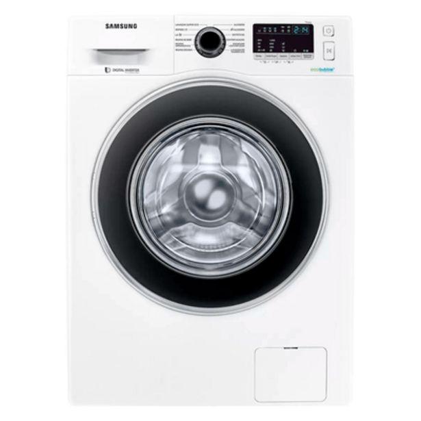 Oferta de Lavadora Samsung WW11J4453JW com EcoBubble 11Kg Branca por R$2877,9