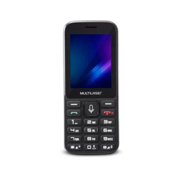 Oferta de Celular Multilaser Zapp Preto por R$249