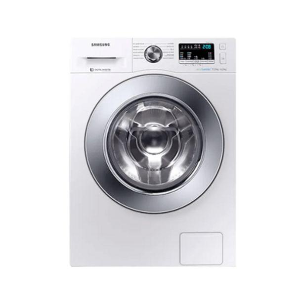 Oferta de Lavadora e Secadora com Ecobubblem WD11M4453 Branca 11kg Samsung por R$3667,9