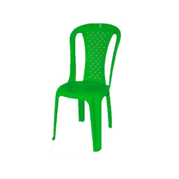 Oferta de Cadeira de Plástico Topplast sem Braço Bistro Verde por R$32
