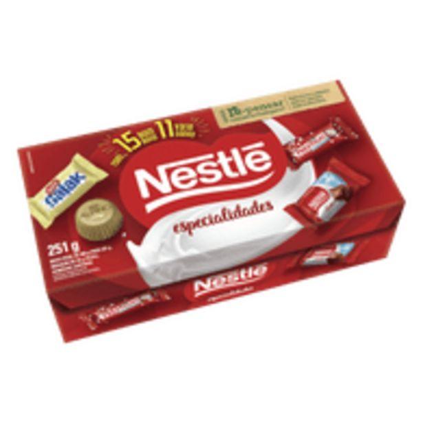 Oferta de Bombom Nestlé Especialidades 251g por R$9,48