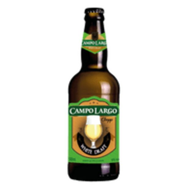 Oferta de Chopp Campo Largo White Draft 500ml por R$6,48