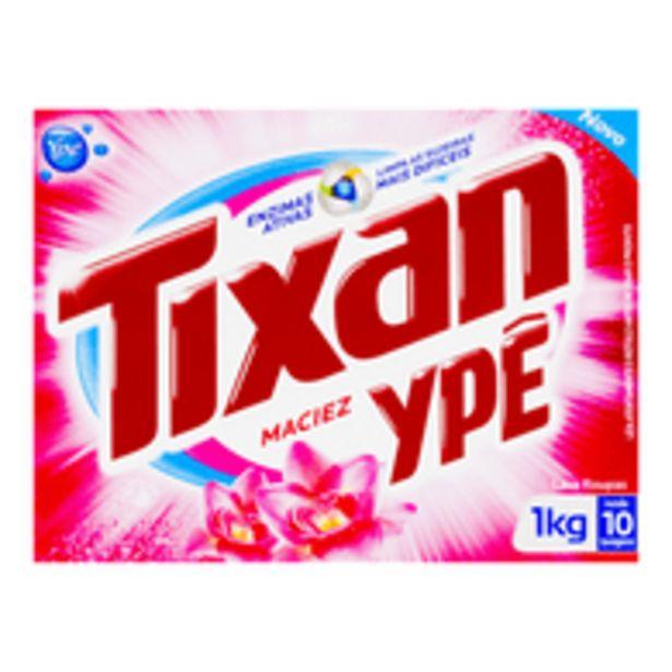 Oferta de Detergente Em Pó Maciez Tixan 1 Kilo por R$7,99