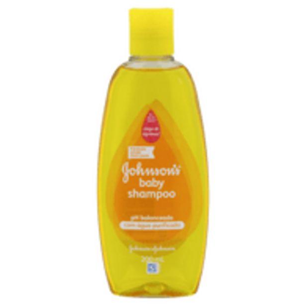 Oferta de Shampoo Johnson & Johnson Baby 200mL por R$11,8