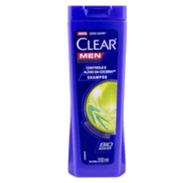 Oferta de Shampoo Clear Cont Coceira 200Ml Cont Coceira por R$18,9
