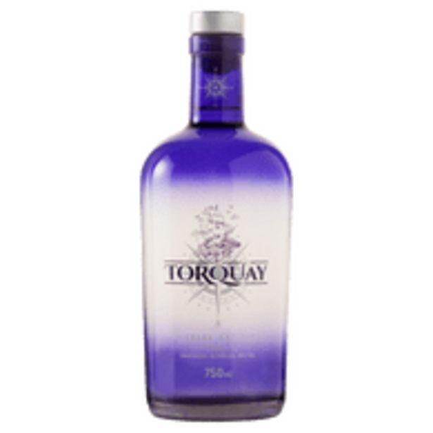Oferta de Gin London Dry Torquay Garrafa 740ml por R$64,8