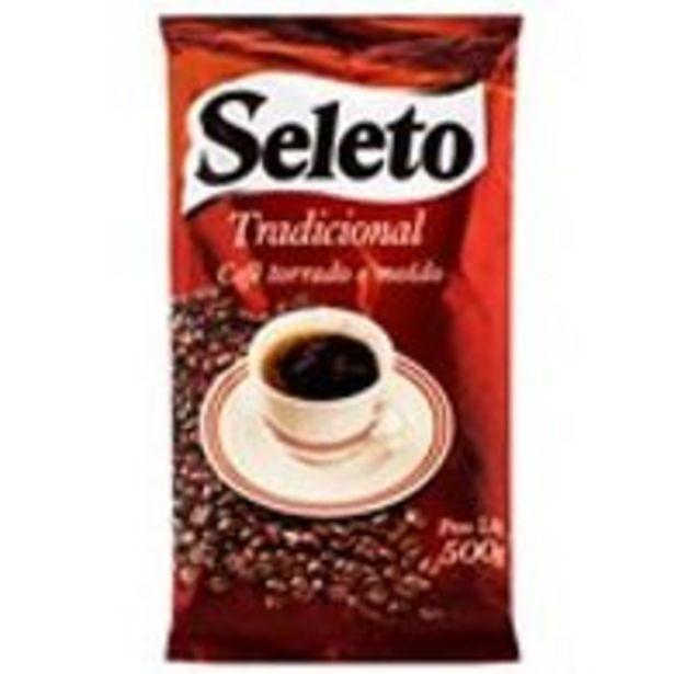 Oferta de Cafe Seleto Tradicional 500g por R$5,99