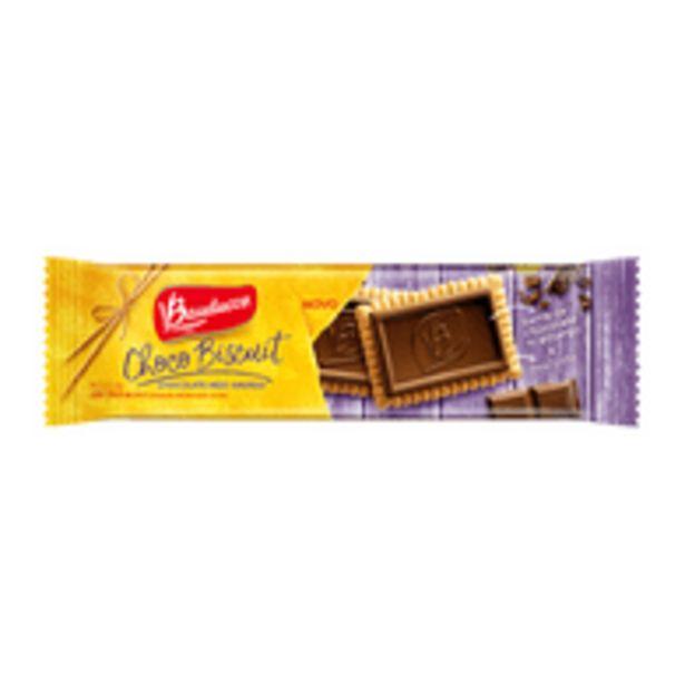 Oferta de Biscoito Biscuit Meio Amargo Bauducco 80g por R$3,79