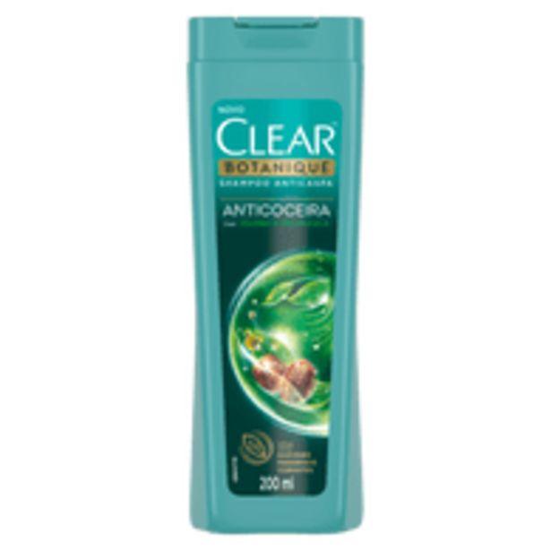 Oferta de Shampoo Clear Anticoceira 200ml por R$18,9