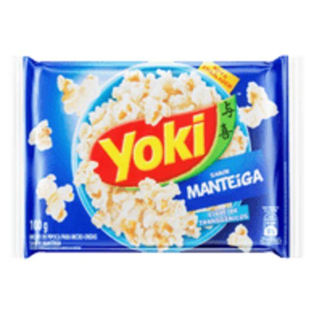 Oferta de Pop Corn Yoki Manteiga 100g por R$2,19