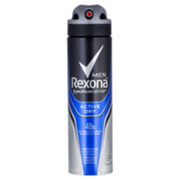 Oferta de Desodorante Rexona Aerosol Active 90g por R$12,98