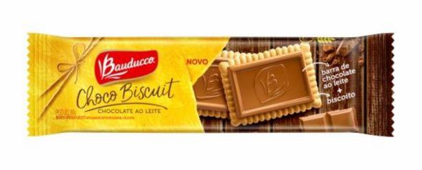 Oferta de Biscoito Bauducco Choco Biscuit 80g Ao Leite por R$4,99