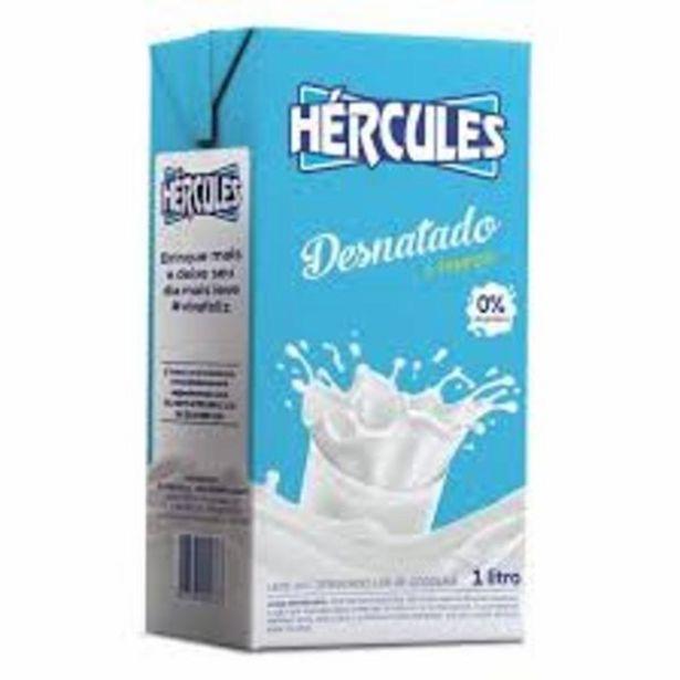 Oferta de Leite Longa Vida 1L Desnatado Hércules por R$2,89