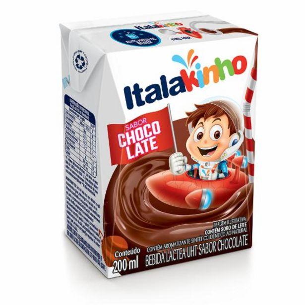 Oferta de Achocolatado Italakinho 200ml por R$0,89