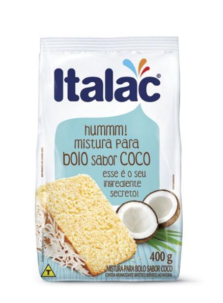 Oferta de Mistura Para Bolo Italac 400g Coco por R$2,39