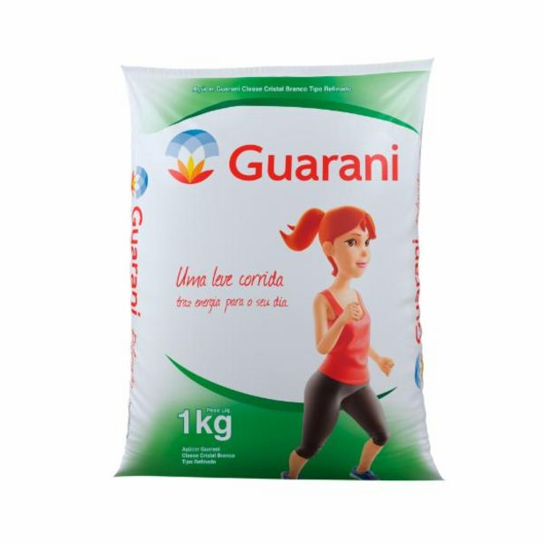 Oferta de Açúcar Refinado Guarani 1kg por R$3,69