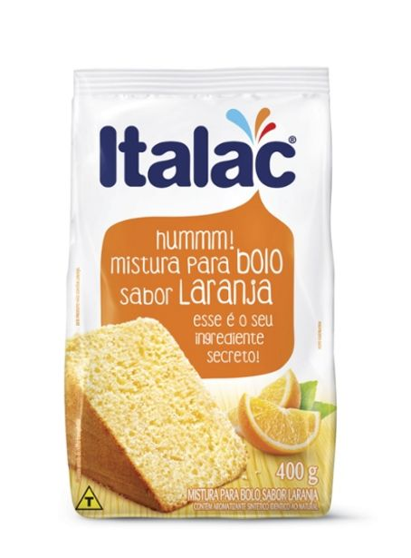 Oferta de Mistura Para Bolo Italac 400g Laranja por R$1,99