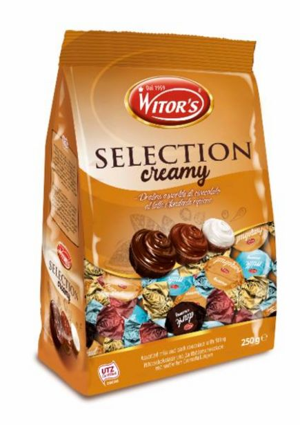 Oferta de Bombom Importado Italiano Selection Creamy Mix Witors 250g por R$9,99