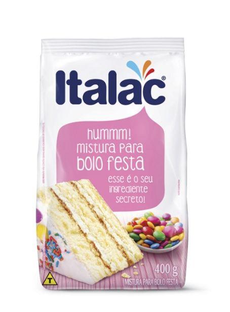 Oferta de Mistura Para Bolo Italac 400g Festa por R$1,99