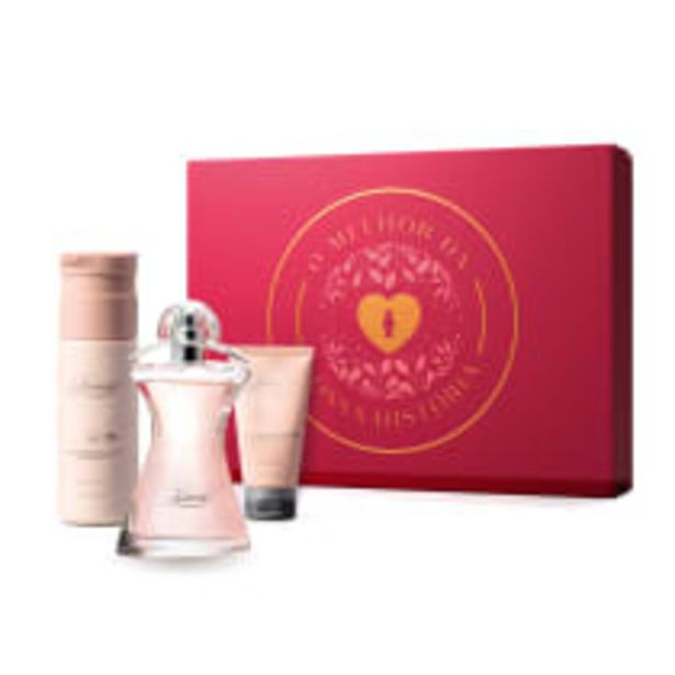 Oferta de Kit Presente Dia das Mães Glamour: Desodorante Colônia 75ml + Creme Corporal 200ml + Creme de Mãos 50g por R$184,9