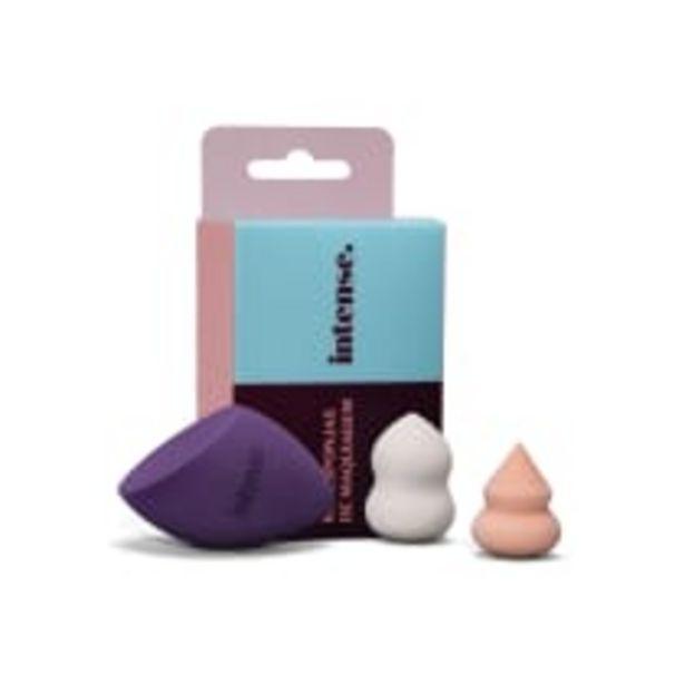 Oferta de Kit Esponjas de Maquiagem 3 unidades por R$29,9