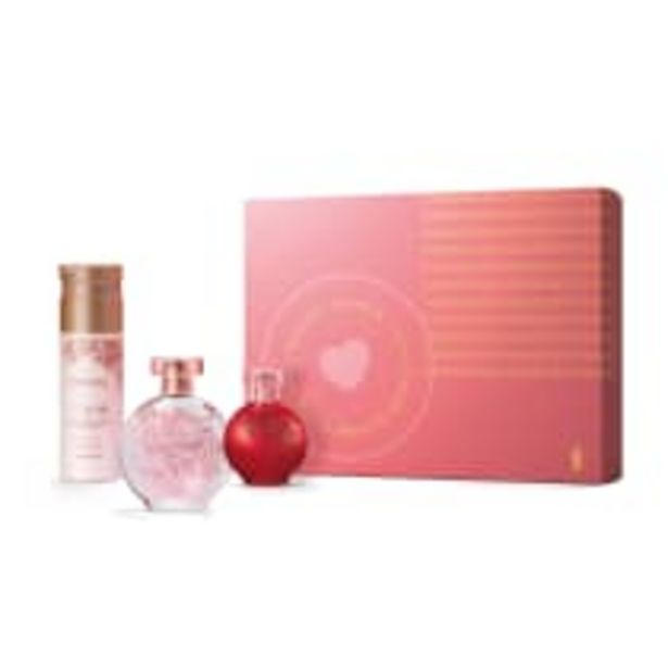 Oferta de Kit Presente Dia das Mães Floratta: Rose Desodorante Colônia 75ml + Loção Corporal 200ml + Red Desodorante Colônia 30ml por R$169,9
