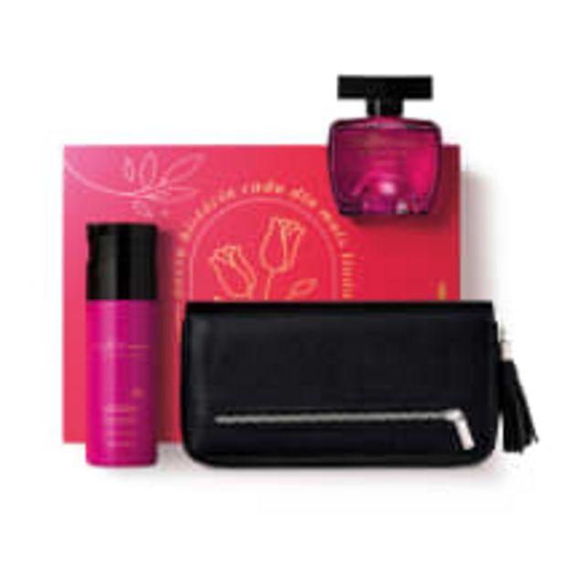 Oferta de Kit Presente Dia das Mães Woman Seduction: Desodorante Colônia 100ml + Loção Hidratante Desodorante 200ml + Carteira por R$199,9