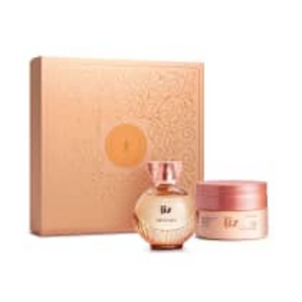 Oferta de Kit Presente Dia das Mães Liz: Desodorante Colônia 100ml + Creme Corporal 250g por R$134,9