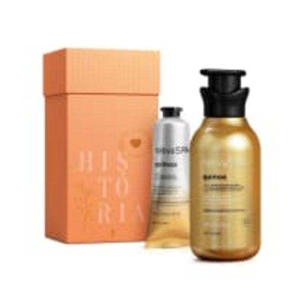 Oferta de Kit Presente Quinoa: Loção Hidratante Desodorante Corporal 400ml + Creme Antissinais de Mãos 75g por R$86,9