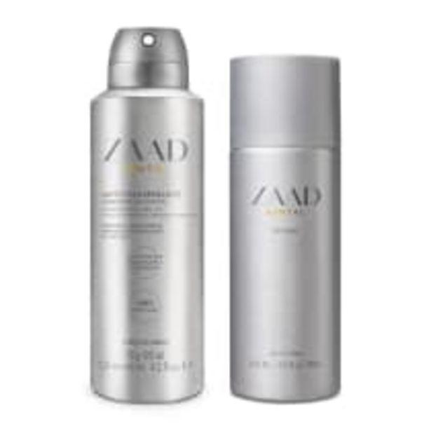 Oferta de Combo Zaad Santal: Splash 200ml + Antitranspirante 75g por R$89,08