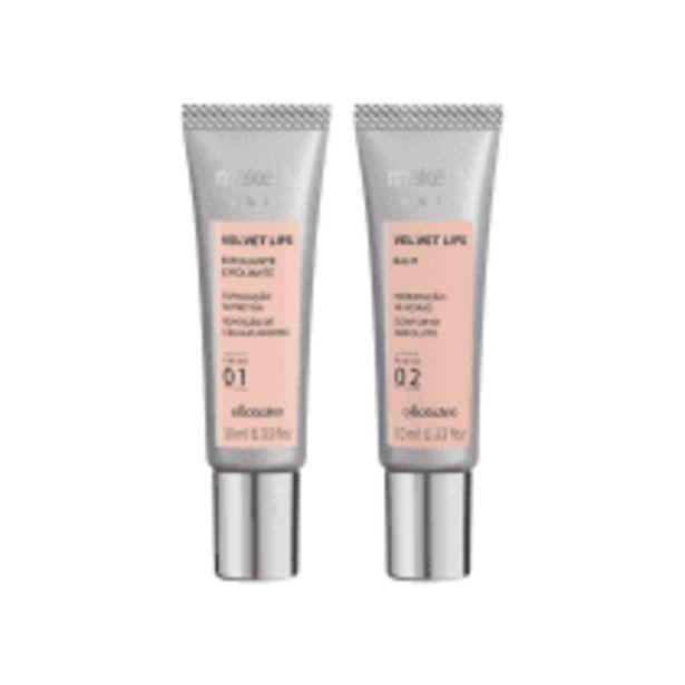 Oferta de Combo Velvet Lips Skin 20ml por R$44,9
