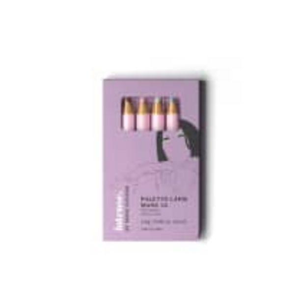 Oferta de Palette de Lápis para Olhos Manu #3 by Manu Gavassi 4 Unidades 2,4g cada por R$59,9