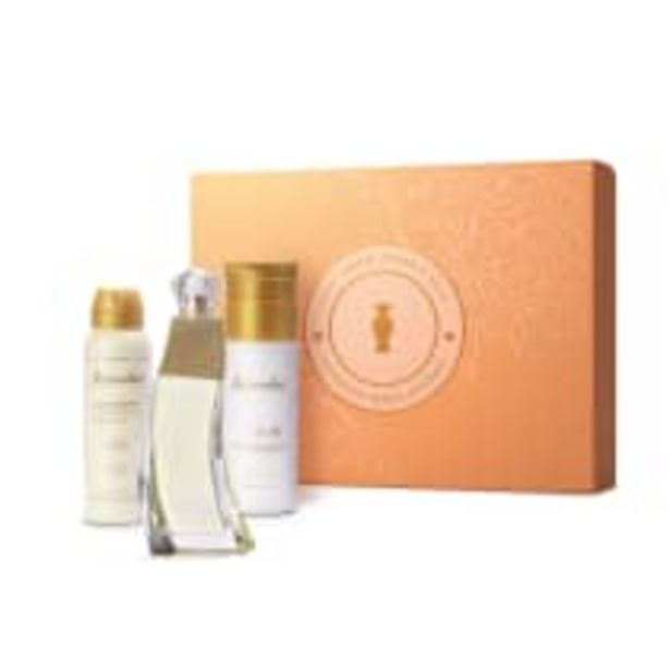Oferta de Kit Presente Dia das Mães Accordes: Desodorante Colônia 80ml + Creme Corporal 200ml + Antitranspirante 75g por R$179,9