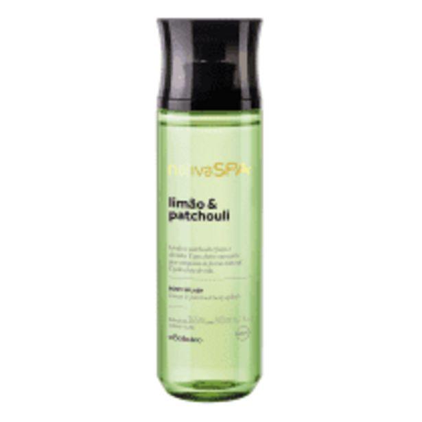 Oferta de Desodorante Colônia Body Splash Limão e Patchouli, 200ml por R$50,9