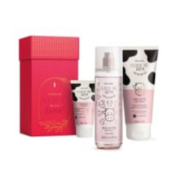 Oferta de Kit Presente Cuide-se Bem Deleite: Loção Hidratante Desodorante Corporal 200ml + Body Splash 200ml + Creme de Mãos 50g por R$99,9