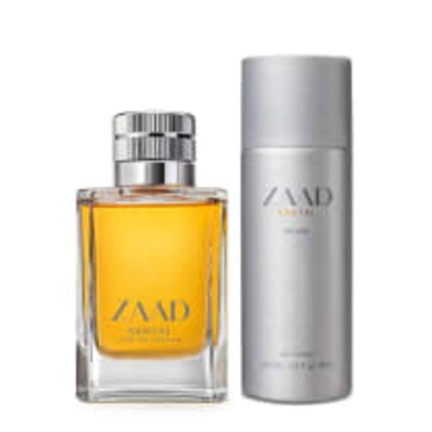 Oferta de Combo Zaada Santal: Eau de Parfum 95ml + Splash 200ml por R$276,08