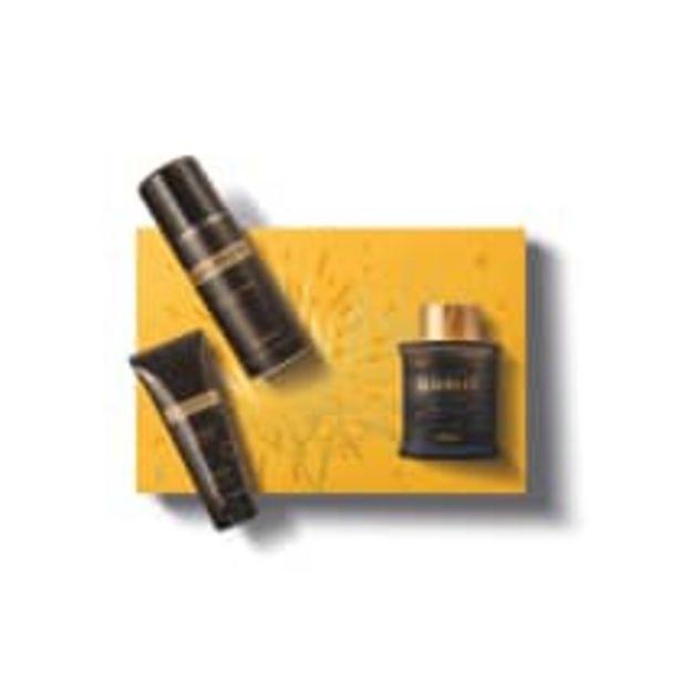 Oferta de Kit Presente Uomini: Desodorante Colônia 100ml + Espuma de Barbear 200ml + Balm Pós-Barba 110g por R$174,9