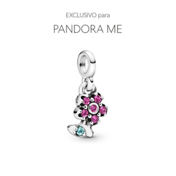 Oferta de Charm Pendente Minha Linda Flor - Pandora Me por R$124,5