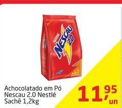 Oferta de Achocolatado em Pó Nescau 2.0 Nestlé por