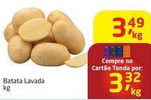 Oferta de Batatas por R$3,49