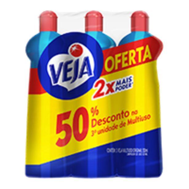 Oferta de Kit Veja MultiusoOferta Especial | 500 ml por R$6,99