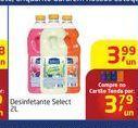 Oferta de Desinfetante select por R$3,99