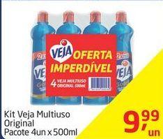 Oferta de Limpador multi uso Veja por R$9,99