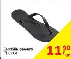 Oferta de Sandálias Ipanema por R$11,9