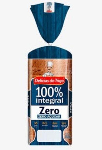Oferta de Pão Integral Delicias do Trigo Zero 100% Integral 380g por R$5,99
