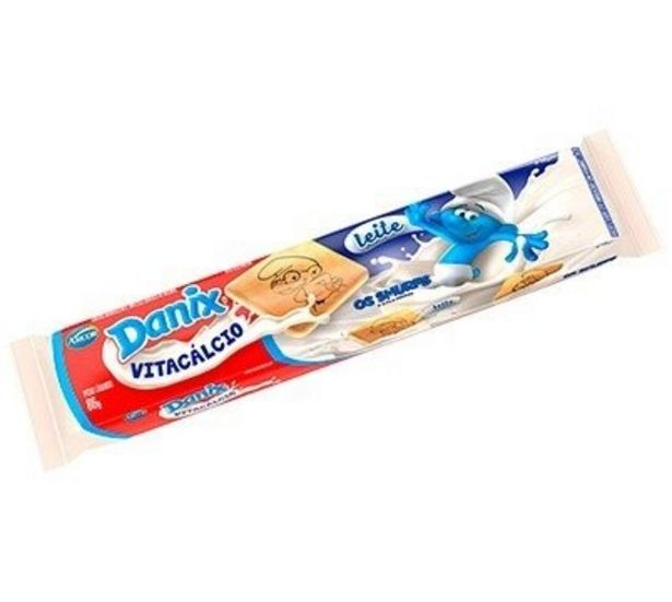 Oferta de Biscoito Danix Leite 86G por R$0,99