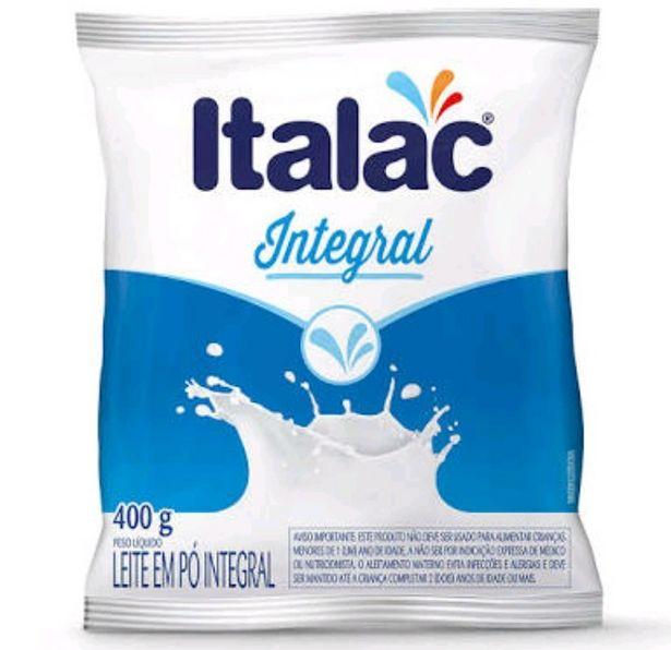 Oferta de Leite em Po Italac 400G Integral Sachê por R$9,98